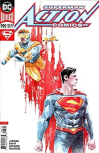 Action Comics 995. Variant Cover Image Copyright DC Comics