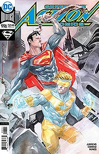 Action Comics 996. Variant Cover Image Copyright DC Comics