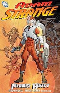 Adam Strange: Planet Heist 1.  Image Copyright DC Comics