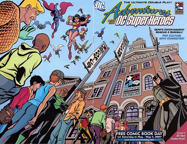 Adventures with the DC Super Heroes, © DC Comics Inc