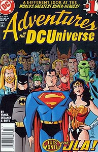 Adventures in the DC Universe, Vol. 1, #1. Image © DC Comics