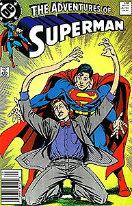 The Adventures of Superman, Vol. 1, #458. Image © DC Comics