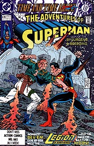 The Adventures of Superman, Vol. 1, #478. Image © DC Comics