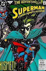 The Adventures of Superman, Vol. 1, #494. Image © DC Comics