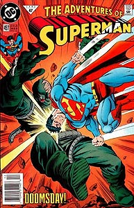 The Adventures of Superman, Vol. 1, #497. Image © DC Comics