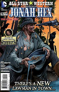 All-Star Western 19.  Image Copyright DC Comics