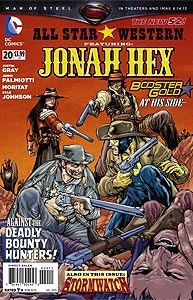 All-Star Western 20.  Image Copyright DC Comics