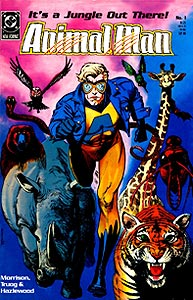 Animal Man, Vol. 1, #1. Image © DC Comics