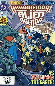 Armageddon: The Alien Agenda 1.  Image Copyright DC Comics