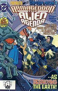 Armageddon: The Alien Agenda, Vol. 1, #1. Image © DC Comics