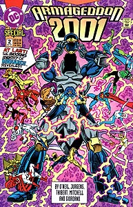 Armageddon 2001 2.  Image Copyright DC Comics