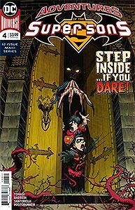 Adventures of the Super Sons, Vol. 1, #4. Image © DC Comics