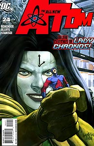 All New Atom, The 24.  Image Copyright DC Comics
