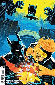 Batman Beyond 48. Variant Cover Image Copyright DC Comics