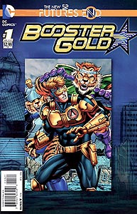 Booster Gold: Futures End 1. Variant Cover Image Copyright DC Comics