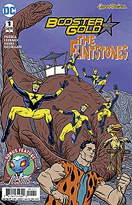 Booster Gold The Flintstones Special 1.  Image Copyright DC Comics