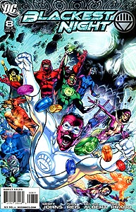 Blackest Night 8.  Image Copyright DC Comics