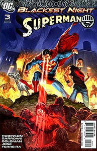 Blackest Night: Superman, Vol. 1, #3. Image © DC Comics