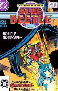 Blue Beetle, Vol. 1, #20. Image © DC Comics