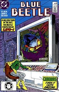 Blue Beetle, Vol. 1, #22. Image © DC Comics