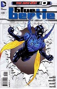 Blue Beetle, Vol. 3, #0. Image © DC Comics
