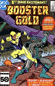 Booster Gold, Vol. 1, #1. Image © DC Comics