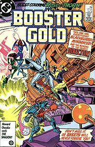 Booster Gold 4.  Image Copyright DC Comics