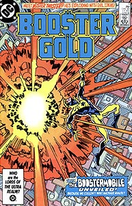 Booster Gold, Vol. 1, #5. Image © DC Comics