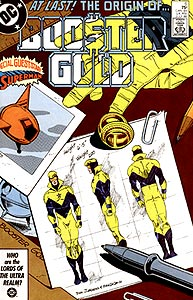 Booster Gold, Vol. 1, #6. Image © DC Comics