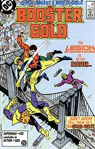 Booster Gold, Vol. 1, #8. Image © DC Comics