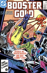 Booster Gold, Vol. 1, #10. Image © DC Comics