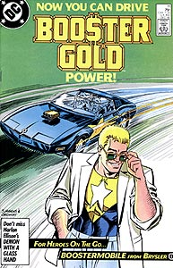 Booster Gold 11.  Image Copyright DC Comics