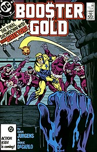 Booster Gold, Vol. 1, #12. Image © DC Comics