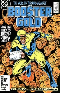 Booster Gold, Vol. 1, #13. Image © DC Comics