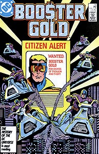 Booster Gold 14.  Image Copyright DC Comics