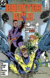 Booster Gold 15.  Image Copyright DC Comics