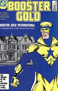 Booster Gold, Vol. 1, #16. Image © DC Comics