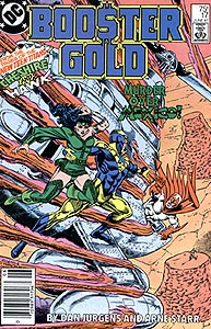 Booster Gold 17.  Image Copyright DC Comics
