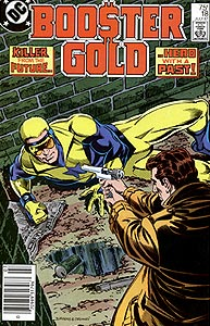 Booster Gold, Vol. 1, #18. Image © DC Comics