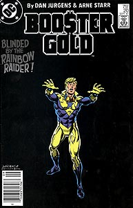 Booster Gold, Vol. 1, #20. Image © DC Comics