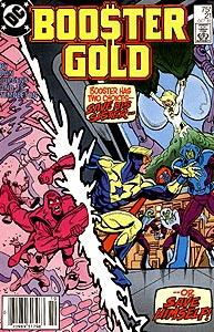 Booster Gold, Vol. 1, #21. Image © DC Comics