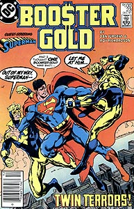 Booster Gold, Vol. 1, #23. Image © DC Comics