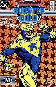Booster Gold, Vol. 1, #25. Image © DC Comics