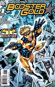 Booster Gold, Vol. 2, #1. Image © DC Comics