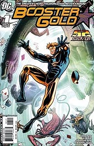 Booster Gold 1. Variant Cover Image Copyright DC Comics