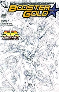 Booster Gold 1. Limited Edition Image Copyright DC Comics