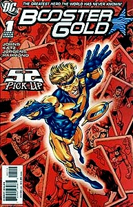 Booster Gold 1. Reprint Cover Image Copyright DC Comics