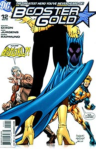Booster Gold 12.  Image Copyright DC Comics
