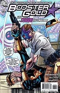 Booster Gold, Vol. 2, #13. Image © DC Comics