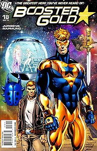 Booster Gold, Vol. 2, #18. Image © DC Comics